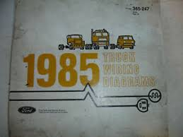 1985 ford truck f600 f800 cowl electrical wiring diagrams la foto se está cargando 1985 ford truck f600 f800 capucha diagramas de