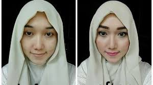 simple make up tutorial pure palette and the one by oriflame