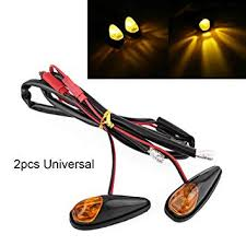 <b>2pcs</b> Universial Motorbike Indicator Flush Mount 12v Motorcycle ...