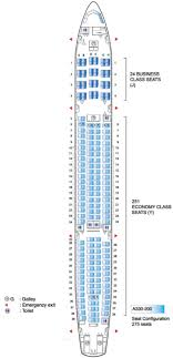 Airbus A330 Seating Chart Air Mauritius Airbus A330 200 Seating Plan Flight Check In