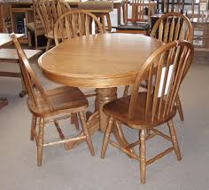 home and furniture ideas astonishing oak kitchen table and chairs on 5 pc farmhouse round