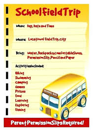 Field Trip Brochure Template Education Related Flyer Print Day – Bonsho