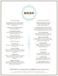 french menu template restaurant menu template for choice of rewards cafe pinterest