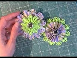 Paper Rosette Flower How To Make Paper Rosette Flowers Timesaver Make Two At The Same