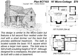 Micro Cottage House Plans Cheerful Micro Cabin House Plans Sheldon Designs  Home A on Tiny House