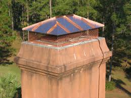 visual examples of our custom chimney cap work to enlarge an image and read the caption