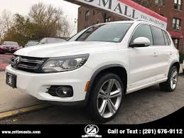 used 2016 volkswagen tiguan in jersey city new jersey zettes auto mall jersey