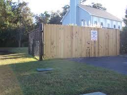 black vinyl privacy fence. Wooden Gate \u2013 Vinyl Chain Link Black Privacy Fence F