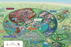 disneyland paris map