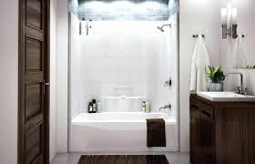 one piece bathtub beautiful shower combination decoration enclosure sliding bath showers combo menards pi