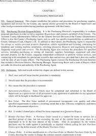 local purchasing order chapter 5 purchasing procedures general statement purchasing