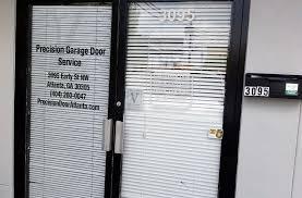 precision garage door service center