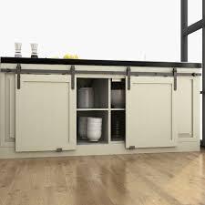 diyhd 48 60 70 mini strap wooden cabinet double sliding barn