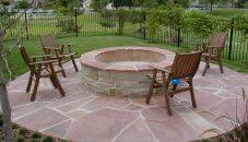 Firepitesign Paver Patioesigns Fire Pit With And Hot Tub Ideas Pits