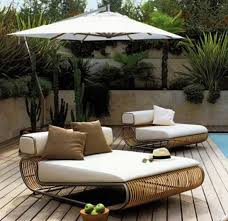 luxurious outdoor furniture. luxury outdoor sunbed seating and lounge chair luxurious furniture f