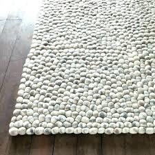 gray fuzzy rug light grey fluffy rug light grey rug rug stones wool ball