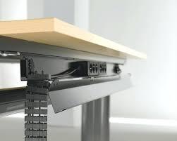 diy computer desk cable management horizon tabletop module ideas shoe box