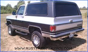 1989 89 Chevrolet Chevy 4x4 K5 Blazer Silverado Blue and Silver