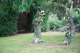 stunning wold arbour created by gathered fl the perfect compliment to the lush setting in megans garden