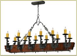 faux candle chandelier home design ideas regarding plan 19