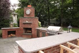 outdoor fireplace designs brick