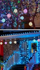 ... Outdoor LED Hanging Ornaments | DIY Christmas Decorations for Outside  Ideas | Easy Outdoor Christmas Decor