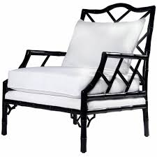 Chippendale Furniture Chippendale Inspired Lacquer Lounge Chair Black Scenario Home