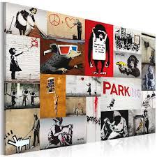 Tableau déco patchwork Banksy | GiFi