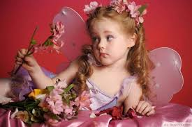 cute girl babies wallpapers. Wonderful Cute Fairy Girl With Pink Flowers And Magic Wand  Httpbestpickrcomcute Babygirlsboysphotos Cute Babies Wallpapers