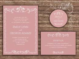 Sample Of Wedding Invatation 20 Wedding Invitations Samples Cafecanon Info