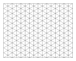Drawing On Isometric Grid Paper Paper Beads Pinterest Drawings