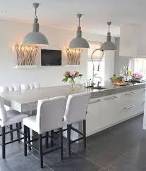 kitchen lighting ideas uk. Triple-matt-gray-pendants Kitchen Lighting Ideas Uk I