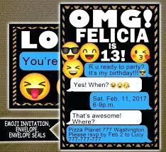 free sleepover invitation templates printable emoji invitations birthdy s free sleepover invitation