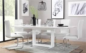 White Dining Table Set White Dining Table Set L Nongzico