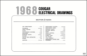 68 cougar wiring diagram 68 image wiring diagram 1968 mercury cougar and xr7 wiring diagram original on 68 cougar wiring diagram