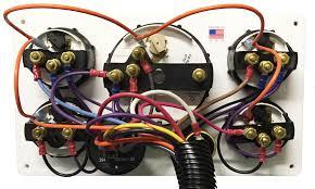 white perkins marine engine instrument panel black gauges 10 75 backwirirng diagram