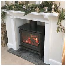 free standing stove. Cast Iron Opti-V Dimplex Sunningdale Electric Freestanding Stove With 2Kw Heater Free Standing