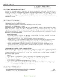 Client Service Manager Resume Wudui Me