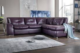 living room purple leather sofa velvet couch genuine light suite and black sectional corner finance area