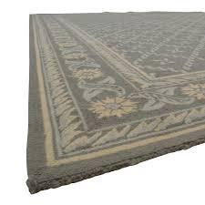 safavieh safavieh wilton grey and light blue wool rug second hand