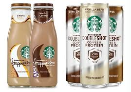 starbucks bottled frappuccino flavors. Fine Starbucks New Su0027mores And Mocha Coconut Bottled Starbucks Frappuccinos Plus Protein  Doubleshots Throughout Frappuccino Flavors C