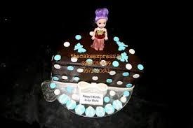 Half Birthday Cake For Baby Girl Delivey Noida Buy 6 Month Cake In
