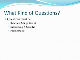 forming good questions why ask questions one of the main points  6 what