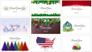 Holiday Templates Making Your Own Holiday Place Cards At Home Place Card Me