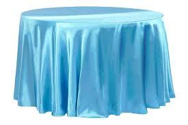 blue tablecloth satin round aqua slate rectangle light plastic