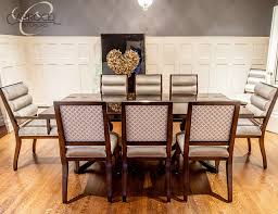 art dining room furniture. Custom Art Deco Mahogany Dining Table With Colina Chairs Modern-dining- Room Furniture U