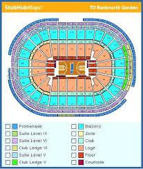 Td Garden Seating Chart Concert Td Garden Concert Seating Chart Elegant Td Garden Seating