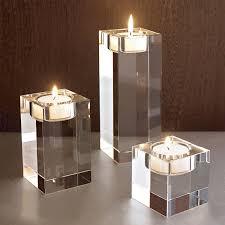 China <b>Factory Wholesale Glass</b> Crafts Wedding Gift Candlestick ...