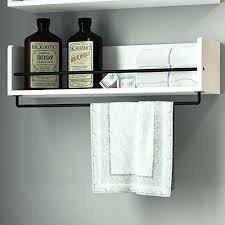 rustic bathroom wall shelves white rustic bathroom wood wall shelf with metal rustic bathroom wall shelf