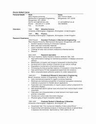 Curriculum Vitae Samples For Civil Engineers Lovely Resume Samples